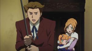 ルリの両親とアオイ
