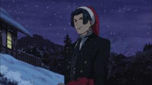 鏡パパ・クリスマスバージョン