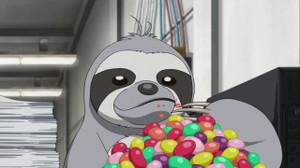 ノアがポップキャンディを掴んでフラッシュ?