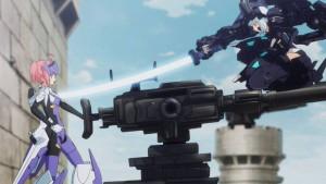悪魔型ストラーフ Mk.2(ヒナ)、セイレーン型エウクランテ(クララ)