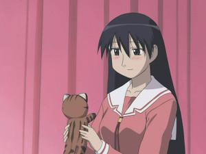 美浜ちよ(ちよちゃん)、榊(さかき)、マヤー(イリオモテヤマネコの子供)
