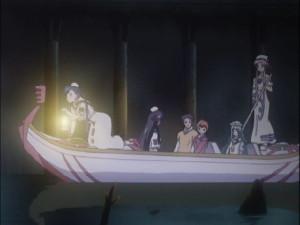 水無灯里(みずなし あかり)、藍華・S・グランチェスタ(あいか)、アリス・キャロル、晃・E・フェラーリ(あきら)