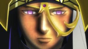アーサー王の顔