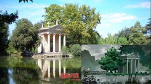 ルパン三世 ローマ・ボルゲーゼ公園