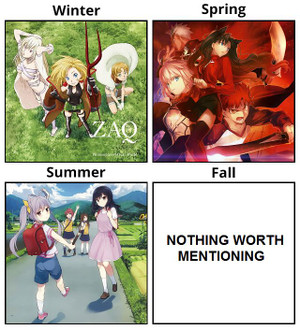 純潔のマリア、Fate/stay night [Unlimited Blade Works]、のんのんびより りぴーと