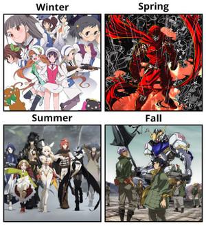 ユリ熊嵐、ニンジャスレイヤー フロムアニメイシヨン、六花の勇者、機動戦士ガンダム 鉄血のオルフェンズ