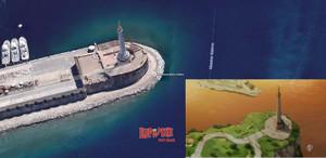 メッシーナ港 マドンナ像
