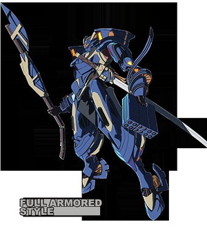 AHSMB-001 BLUE ONE -FORWARD type-(ブルー1 / ブルーワン)