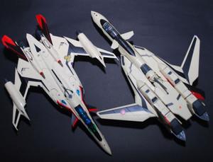 YF-29がSV-51を意識していると言いながらVF-19は違うという。