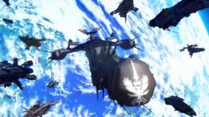 ウィンダミアはマクロス・ギャラクシーのデネブ級に似た戦艦を使っている