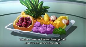 これは pineapple salad(パインサラダ)と言えるのではないだろうか?