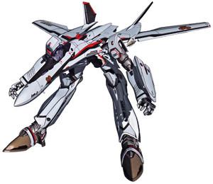 マクロスF VF-25F ガウォーク形態