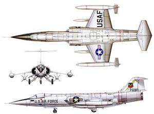 Sv-154、デザインモチーフはF-104 スターファイター