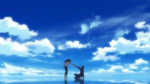 馬締光也(まじめみつや/櫻井孝宏)林香具矢(はやしかぐや/坂本真綾)
