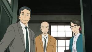 荒木公平(あらきこうへい/金尾哲夫)佐々木薫(ささきかおる/榊原良子)松本朋佑(麦人)
