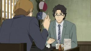 馬締光也(まじめみつや/櫻井孝宏)西岡正志(にしおかまさし/神谷浩史)