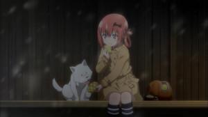 サターニャ(大空直美)犬(井澤美香子)