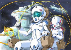 ハードSFにおける宇宙時代の未来においてハイレグ水着がリアリティのある(女性用)パイロットスーツになることを知らしめている。俺はそれを誇りに思う。