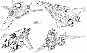 外国人「VF-1のデザインて古く臭くない?」「VF-22は人生に必要なもの」