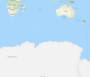 どうなってんだ。南極大陸でかすぎだろ。