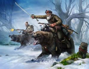 ソビエトのドラゴンは実を言うとクマなんだよね。