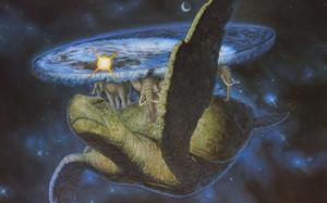 イングランドのファンタジー作家テリー・プラチェットによるユーモアファンタジー小説のシリーズ、および小説の舞台となる架空世界の名称。世界を支える亀