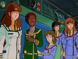 一つ思ったんだけど、ブリッジクルーが全員女性なのはどうしてなの?