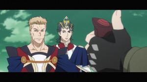 ユウキ・ソレイユ(花守ゆみり)とヨシュア・イングラム(松岡禎丞)の父親