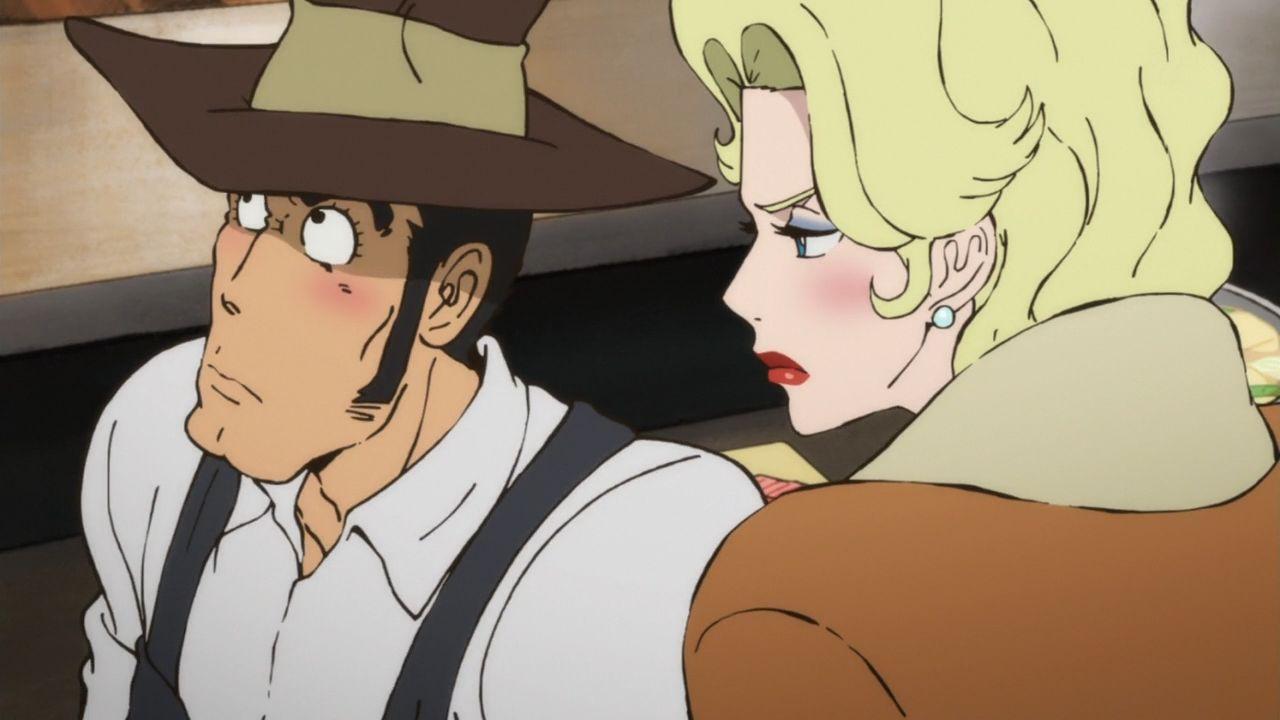 銭形警部(Inspector Koichi Zenigata)エレナ・ゴッティ