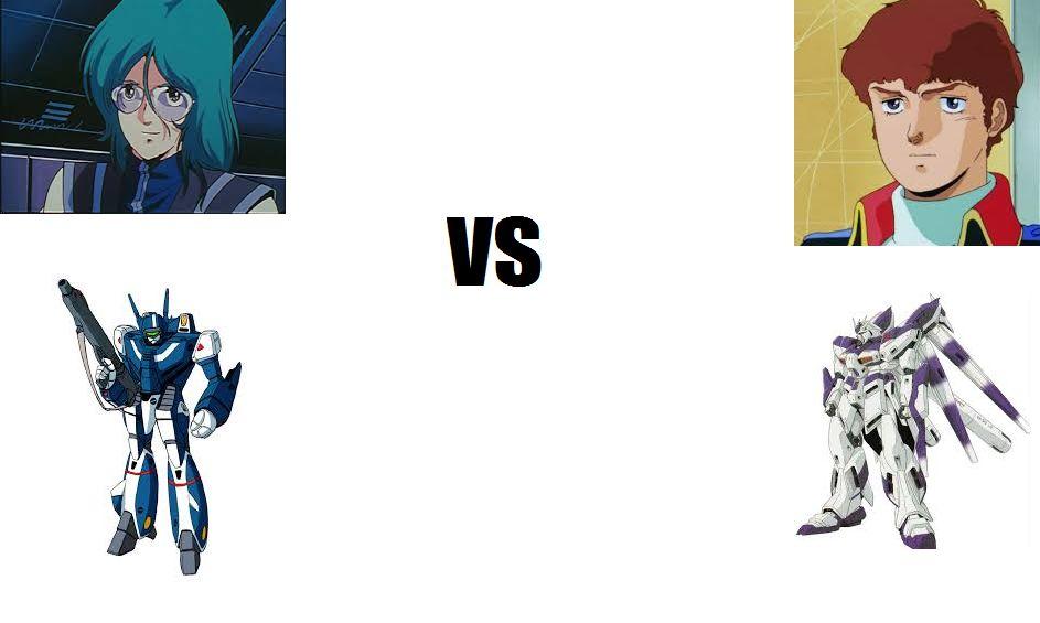 外国人「マックス(マクロス VF-1バルキリー)対アムロ(Hi-νガンダム)勝つのはどっち?」