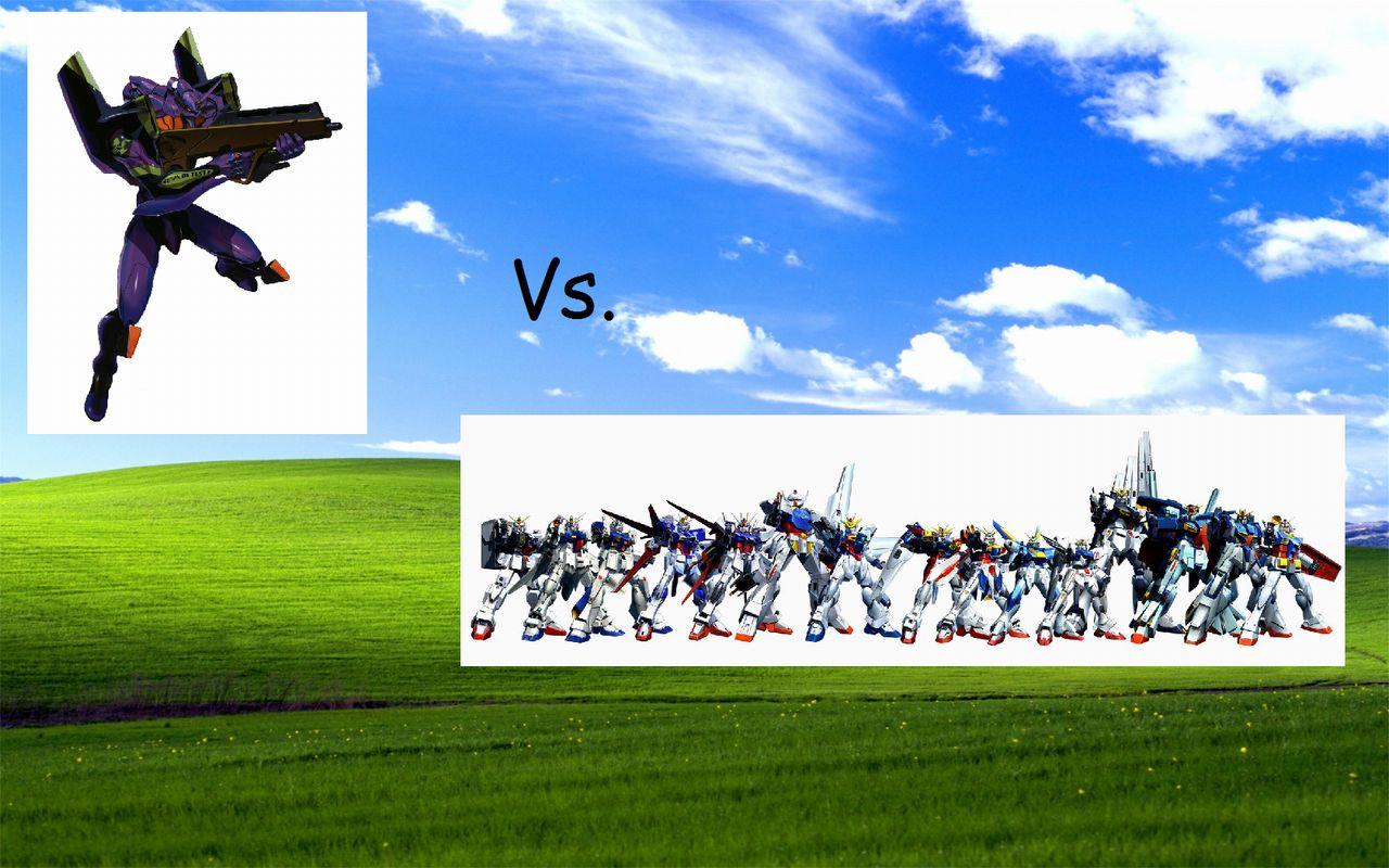 外国人「エヴァンゲリオン初号機対ガンダム。勝つのはどっち?」