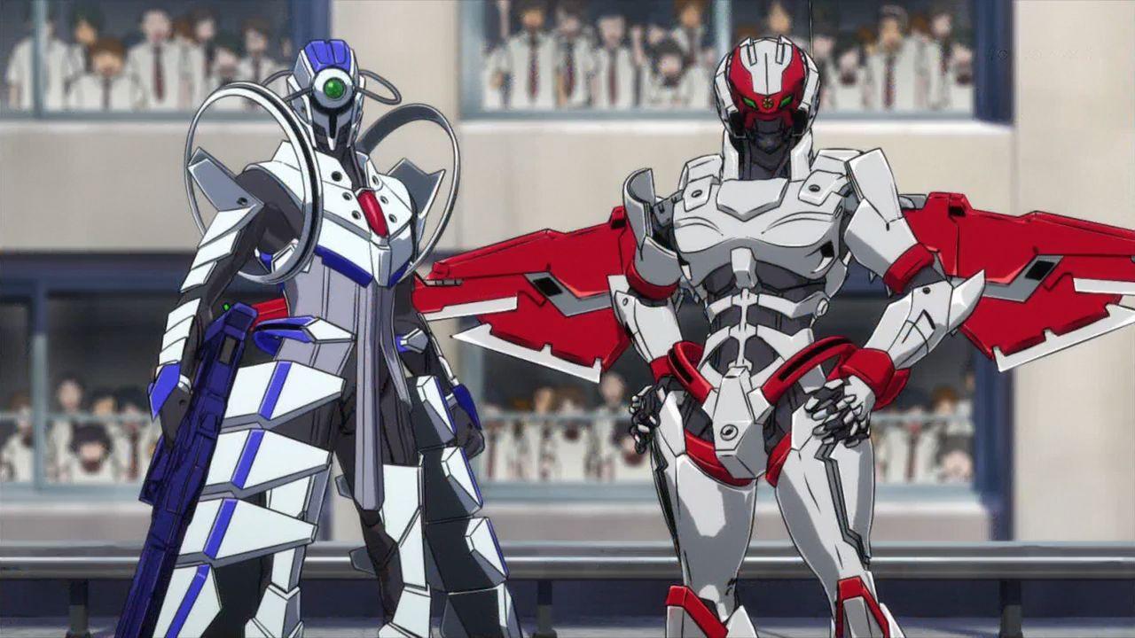 アクティヴレイド -機動強襲室第八係-黒騎猛(くろき たける)瀬名颯一郎(せな そういちろう)ウィルウェア・ストライクインターセプター・エルフΣ