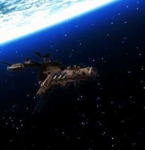 マクロス・ギャラクシー系の軍艦はヴォルドールの統合軍カラーなんだよ。