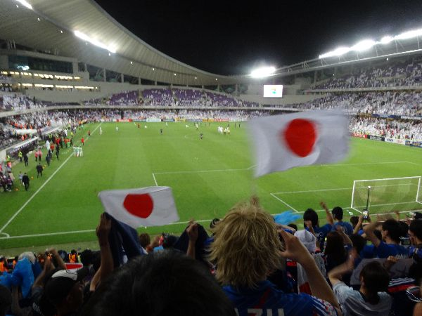 【現地観戦記】日本対UAE(アル・アイン)ロシアW杯アジア最終予選