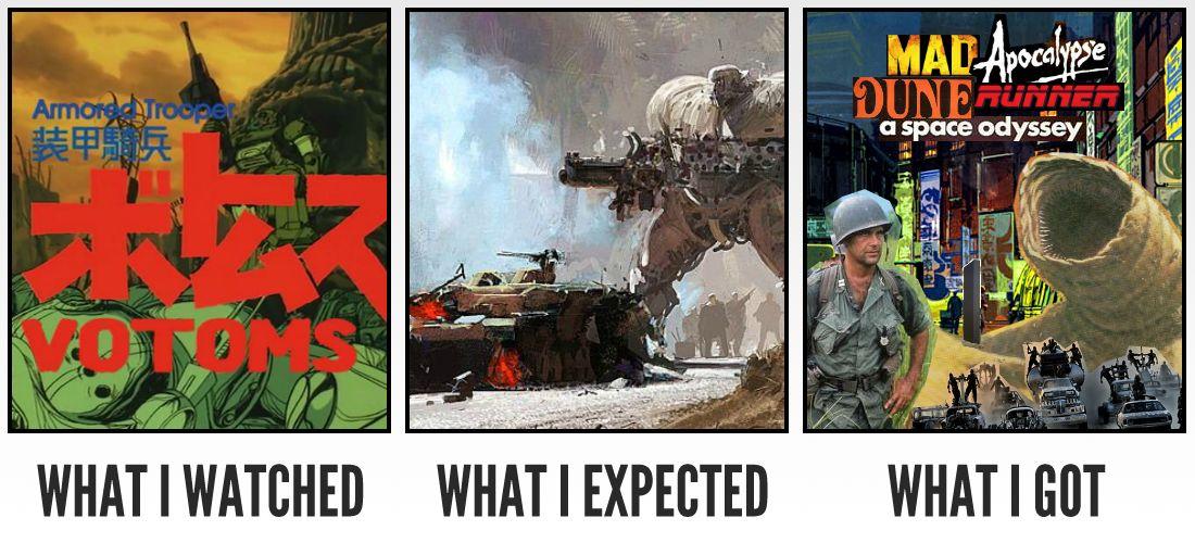 外国人「装甲騎兵ボトムズと機動戦士ガンダムどっちがいい?」