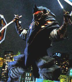 グリッドマンキャリバーに対抗して Ninja Kaiju ソードってところかな。