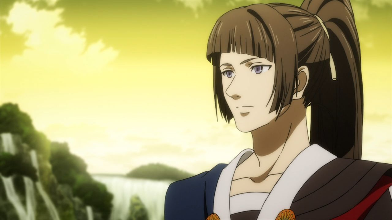 エガオノダイカ 第6話 イザナ・ラングフォード(置鮎龍太郎)