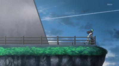 フカイ・アオを抱きしめるアラタ・ナル