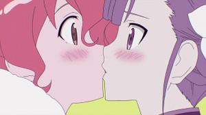 ムギナミとランのキス