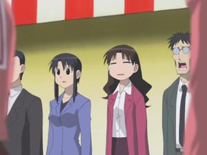 谷崎ゆかり(ゆかり先生)、黒沢みなも(にゃも先生)、木村先生