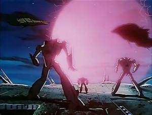 超時空要塞マクロス 第19話 バースト・ポイントの全方位バリアの暴走