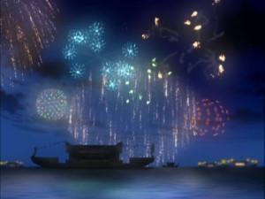 花火パートはアニメーションが凄く綺麗だったね