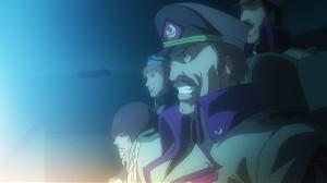 フロンティア船団新統合軍司令兼バトル・フロンティア艦長、ペリオ
