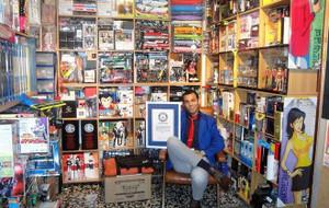 ルパン三世のコレクションのギネス世界記録保持者 Dario Calabriaさん