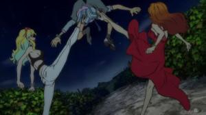 ルパン三世(Arsene Lupin III)峰不二子(Fujiko Mine)レベッカ・ロッセリーニ(Rebecca Rossellini)