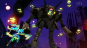 ゼントラーディの兵器もグレードアップしているようだ。特にリガードのミサイルラックなんか。