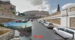 ローマ通り Annibaldi