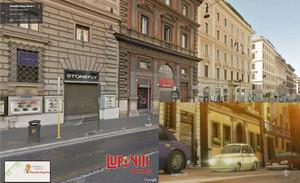 ローマ Nazionale通り
