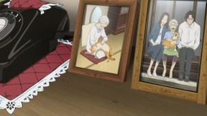 馬締光也(まじめみつや/櫻井孝宏)林香具矢(はやしかぐや/坂本真綾)林タケ(谷育子)猫のトラさん
