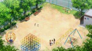 この公園はさすがに分かりません。地元の人なら分かるでしょうけど架空の公園の可能性もあります